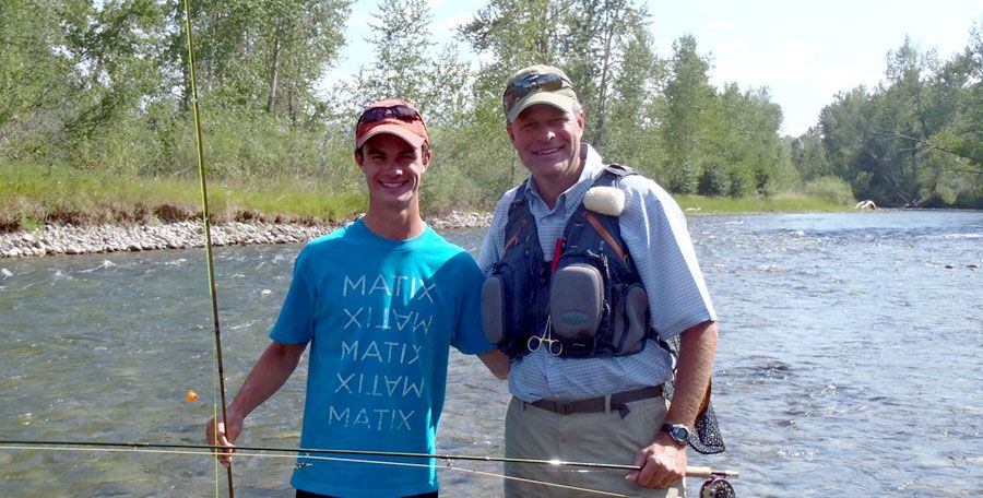 Learn to Fly fish in Montana